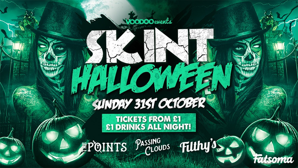 Skint Halloween – The Points, Passing Clouds & Filthy's 🎃