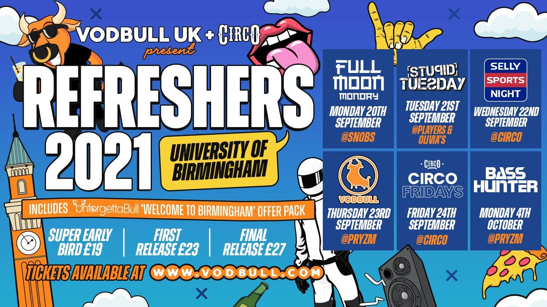 UoB ⚠️ FINAL 100  PACKS!!⚠️ Refreshers & Freshers Pack ON SALE HERE!! 🔥 University of Birmingham