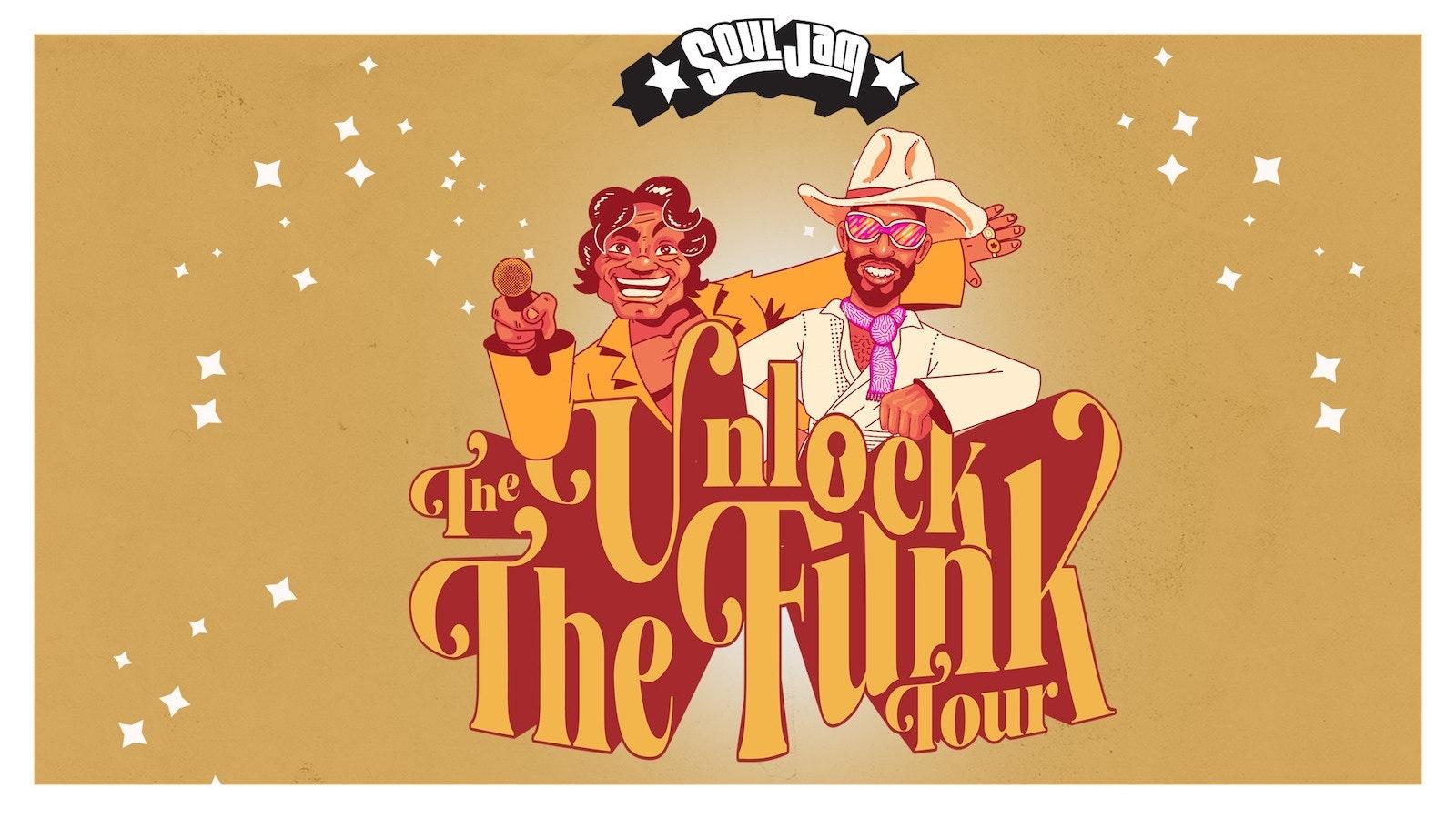 SoulJam   Unlock the Funk Tour   Sheffield   Foundry