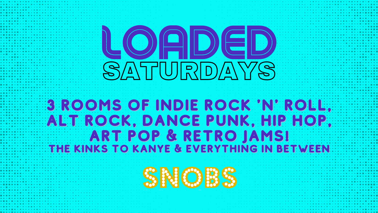 Loaded Saturday 9th October