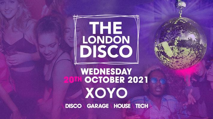The London Freshers Disco 👽 House x Techno x Disco x Garage | XOYO
