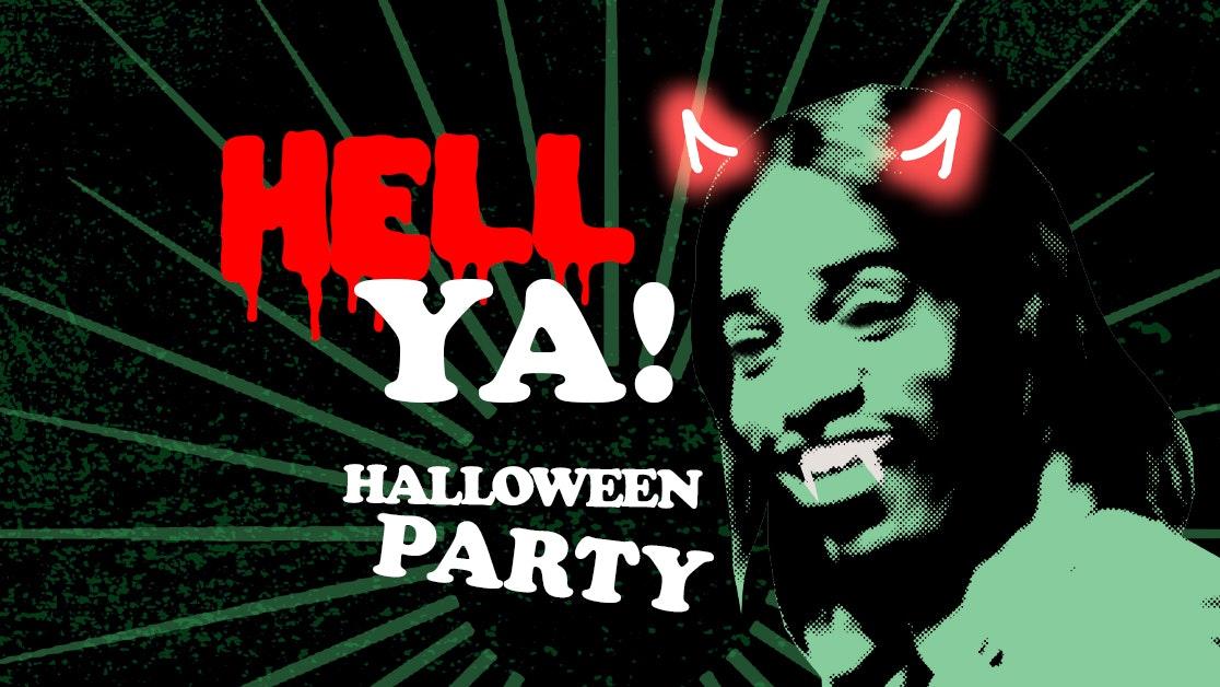 HELL YA! – Halloween Party Rockin' 00 Anthems!