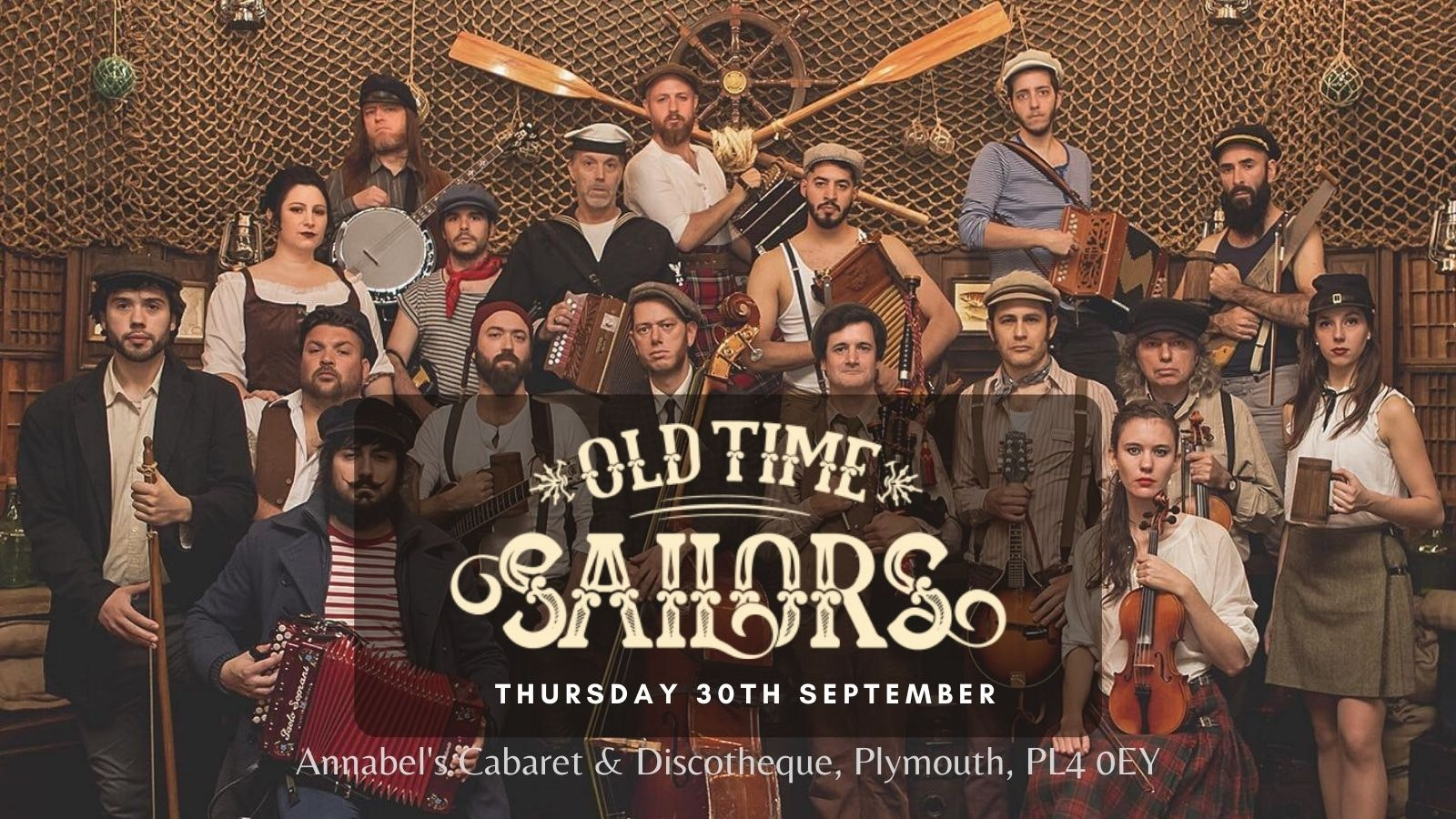 OLD TIME SAILORS   Plymouth, Annabel's Cabaret & Discotheque