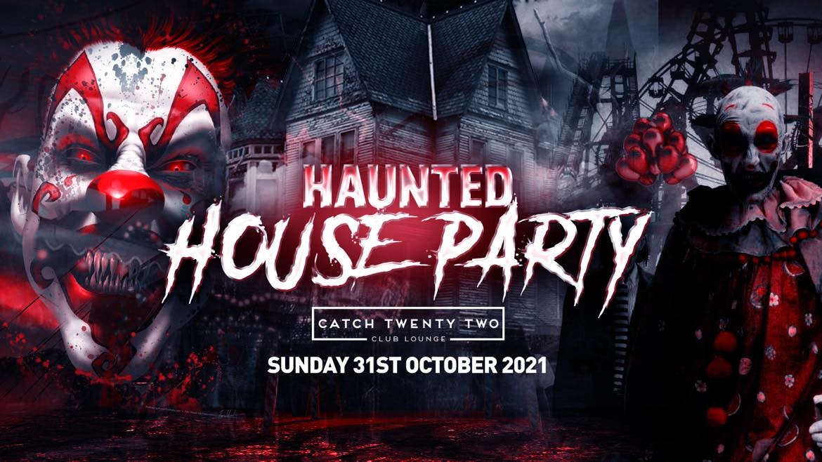 The Haunted House Party | Coventry Halloween 2021 – First 100 Tickets ONLY £3!