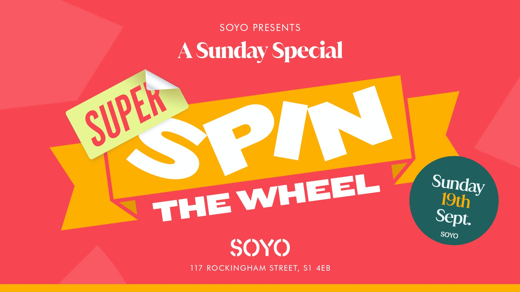 Move In Sunday Super Spin The Wheel