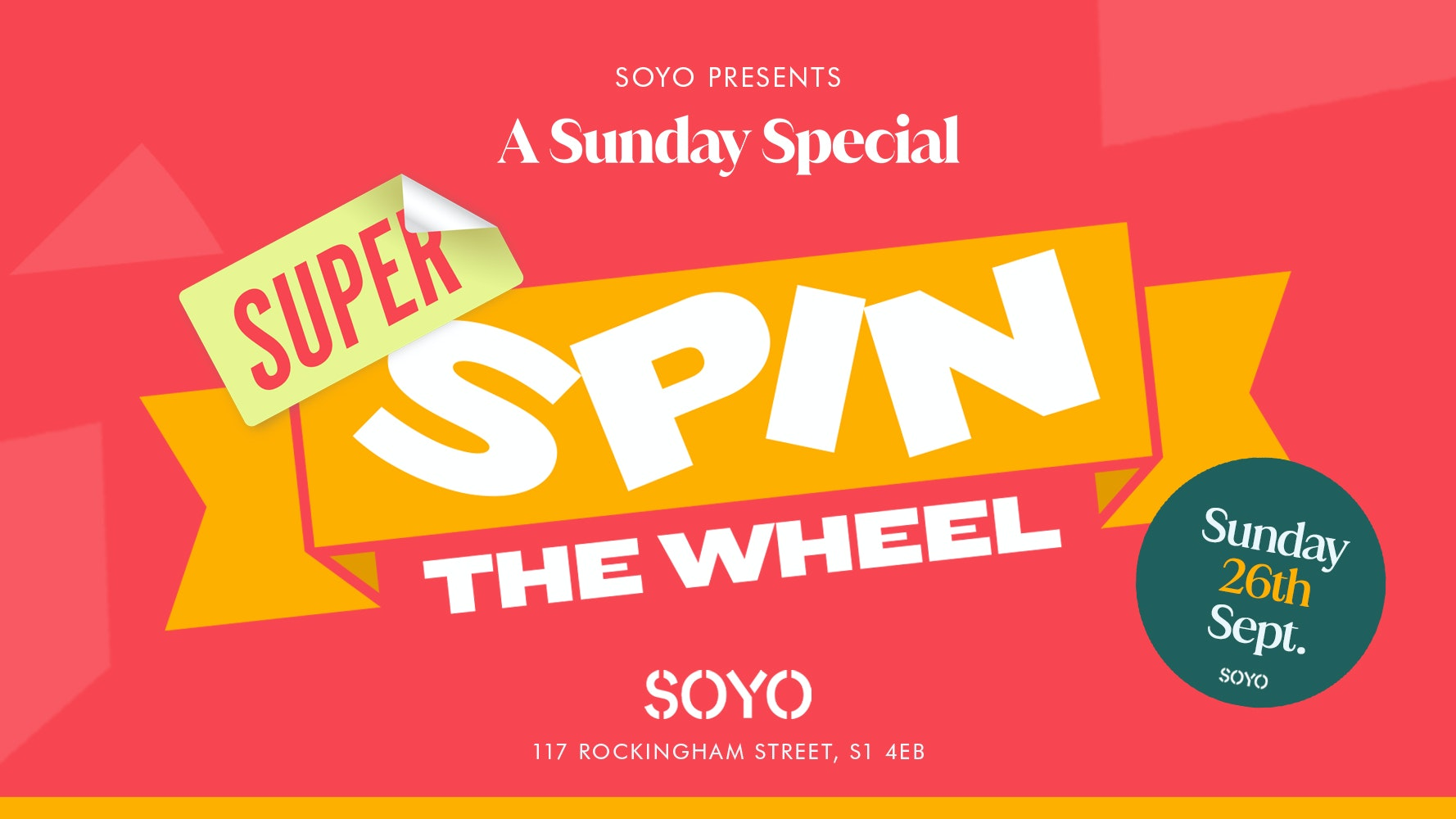 Super Spin The Wheel Freshers Finale!!