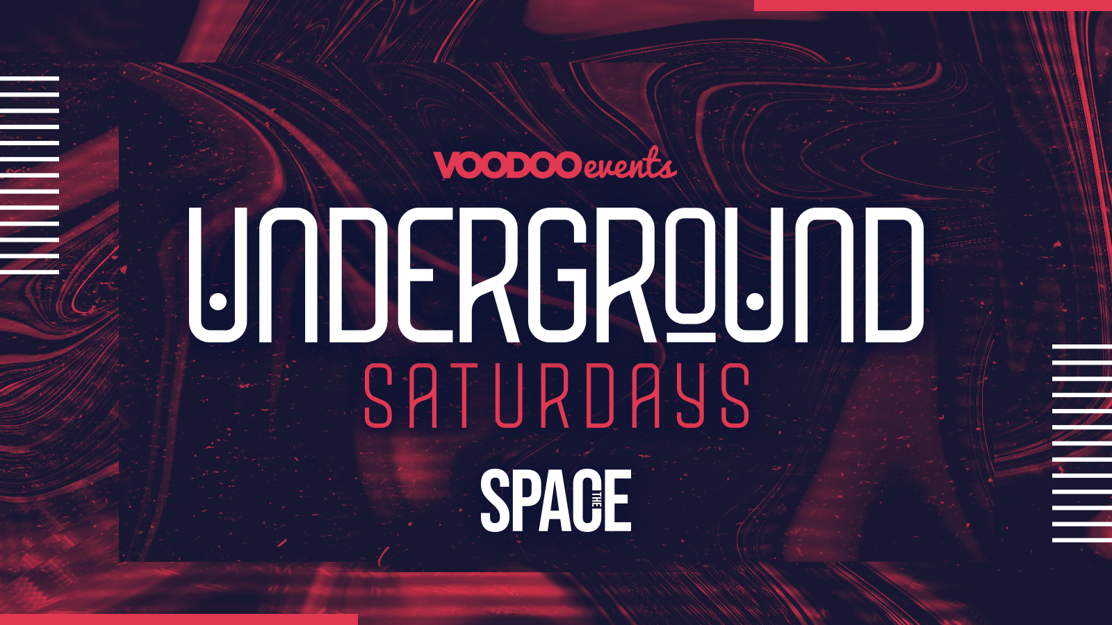 Underground Saturdays at Space –  23rd October