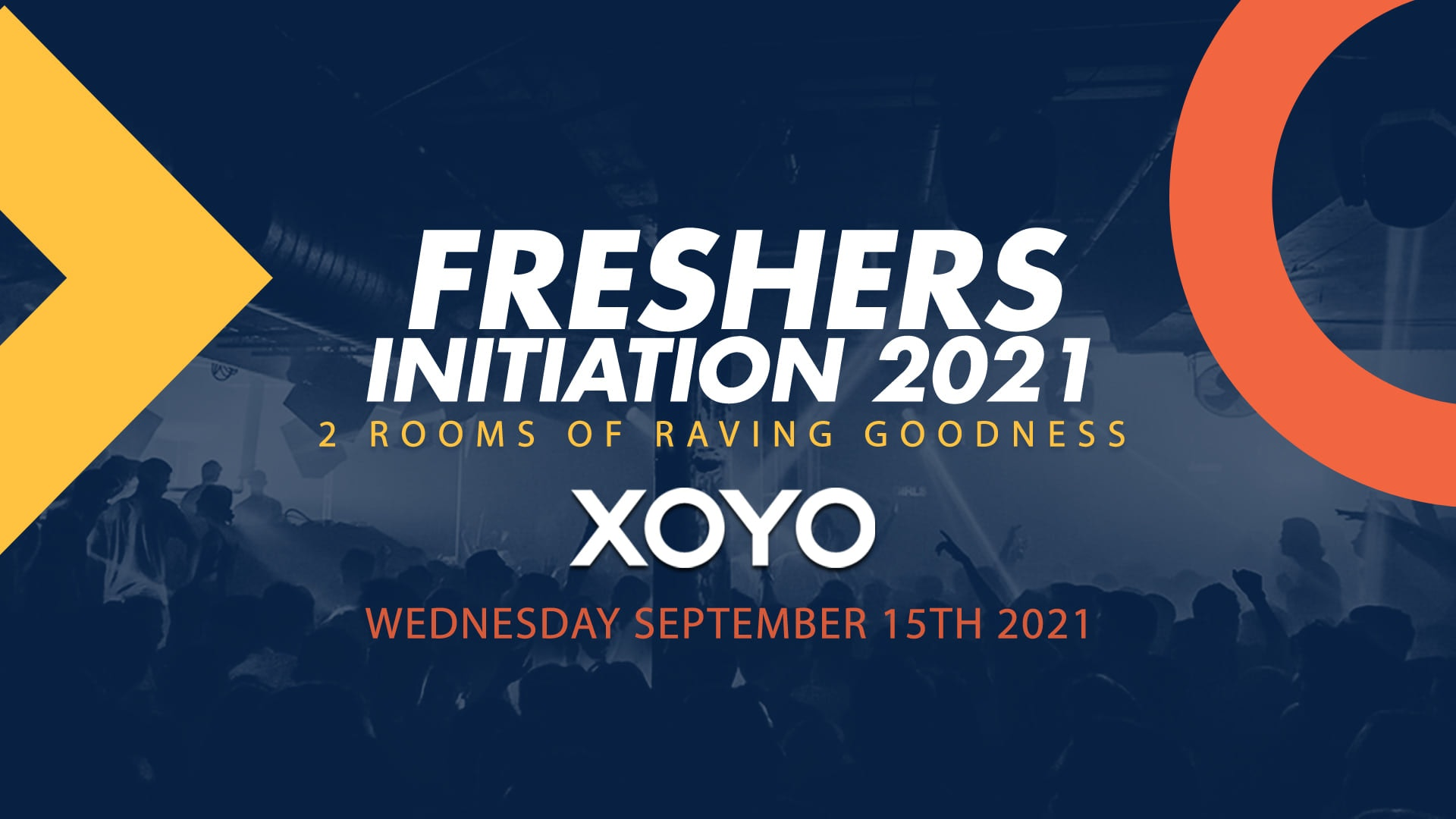 Sold out – The FRESHERS INITIATION 💥